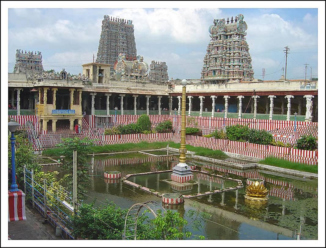 falls in tamilnadu and madurai